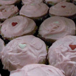Mini Valentine's Cupcakes