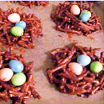 Easter Egg Bird Nests