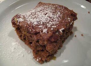 Chocolate Zucchini Snack Cake