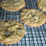 White Chocolate Oatmeal Raisin Cookies