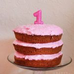 1st Birthday Cake & a Very Pink Party