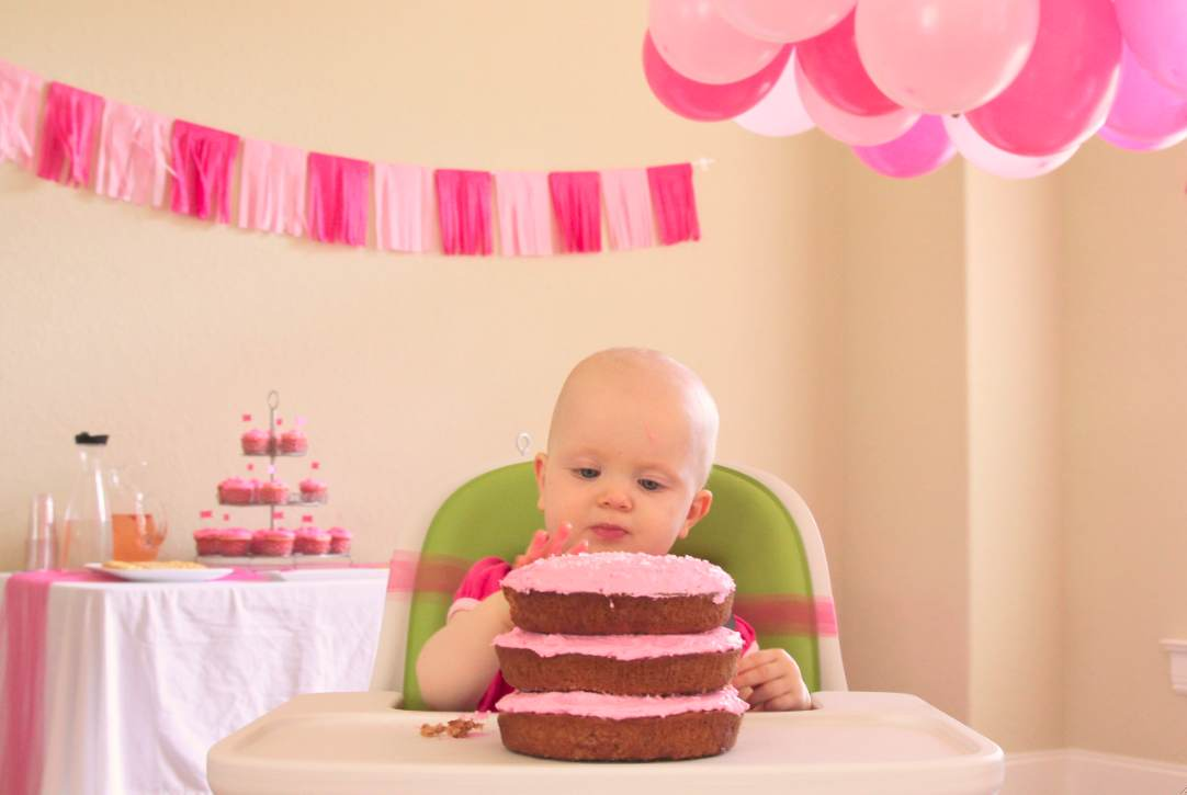 Ist Birthday Cake