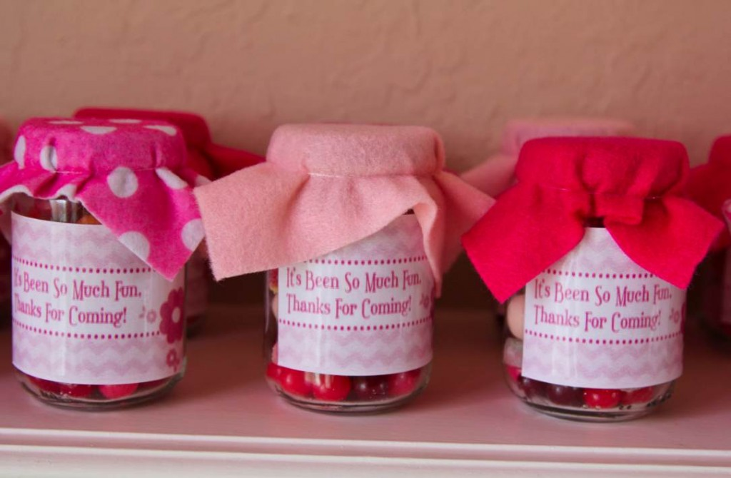 Pink Party Favors