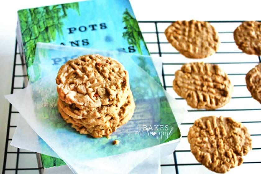 peanut-butter-oatmael-cookies