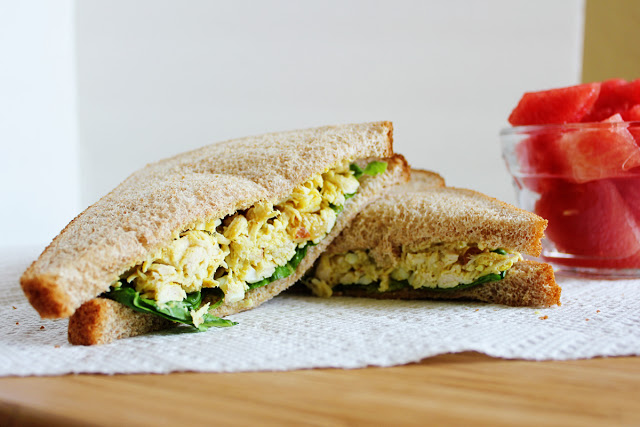Curried Chicken Salad   It Bakes Me Happy