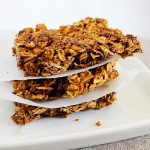 Crunchy, sweet Chocolate Pumpkin Granola Bars make a great on the go breakfast or snack and are loaded with fall-time flavors!