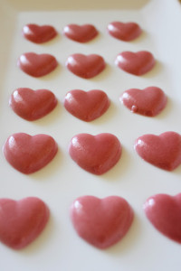 Cinnamon Gummy Heart Candy