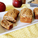 Apple Cake is a delicious fragrant loaf cake filled with juicy apples and cinnamon, it makes the perfect fall birthday cake!