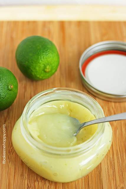 It Bakes Me Happy: Lime Curd