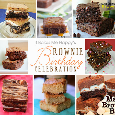 Brownie Birthday Celebration | It Bakes Me Happy