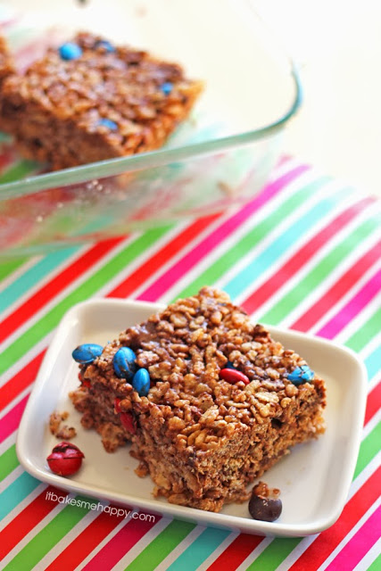 It Bakes Me Happy: Monster Rice Krispies