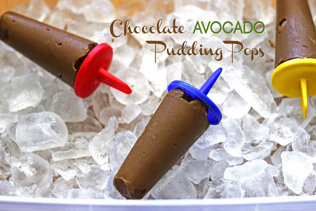 Rich, creamy, chocolate avocado pudding pops are a delicious and healthier way to satisfy your chocolate cravings this summer.