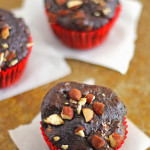 Chocolate Almond Muffins