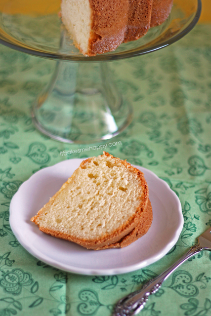 It Bakes Me Happy: Half Pound Cake