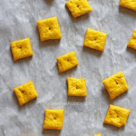 Pumpkin Cheddar Crackers