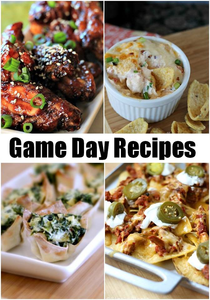 Game Day Recipe Roundup