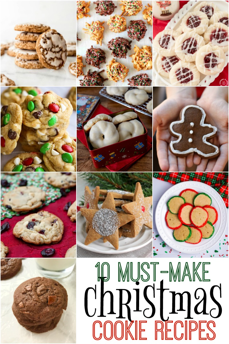 10 must have christmas cookie recipes