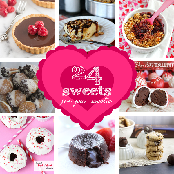 24 Valentine Sweets for Your Sweetie