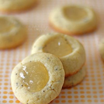 Lemon Poppy Seed Thumbprints