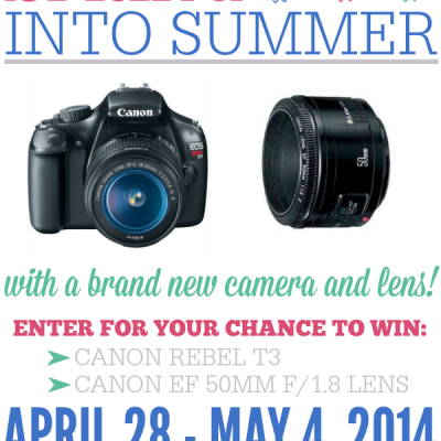 Spring into Summer Camera and Lens Giveaway