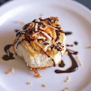 Samoa Sweet Rolls | It Bakes Me Happy