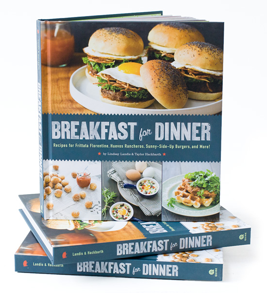 Enter to win a copy of Breakfast for Dinner @ It Bakes Me Happy