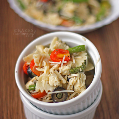 Chicken Asparagus Pasta Salad