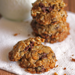 Chocolate Chip Chia Oat Cookies