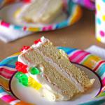 Vanilla Gummy Bear Birthday Cake