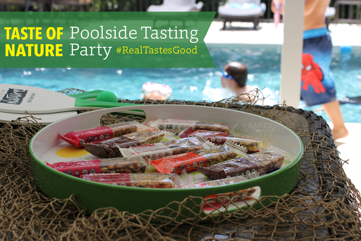Taste of Nature Poolside Tasting Party with It Bakes Me Happy