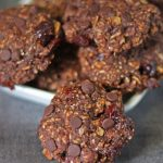 Double Chocolate Breakfast Cookies | It Bakes Me Happy