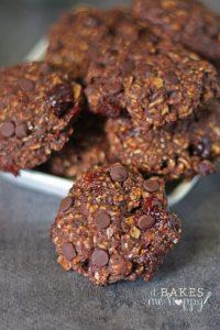 Double Chocolate Breakfast Cookies | It Bakes Me Happy