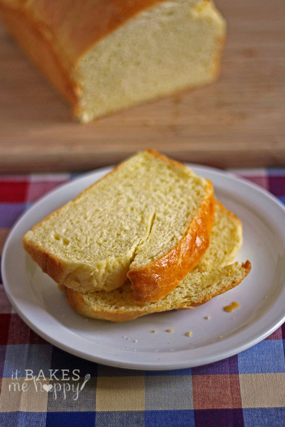 Sliced French Brioche bread is soft, buttery, delicate bread perfect for toast.