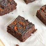 Pumpkin Fudge Brownies