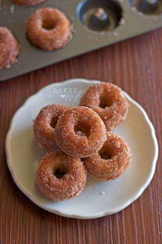 Apple Cider Mini Donuts