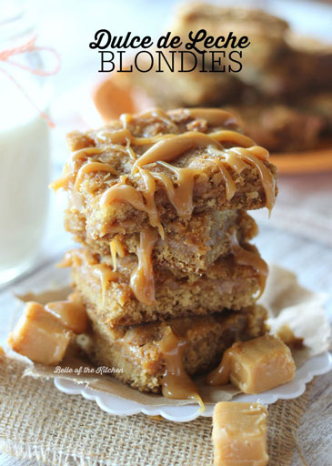 Dulce De Leche Blondies
