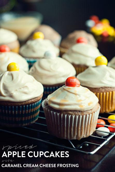 Spiced Apple Cupcakes