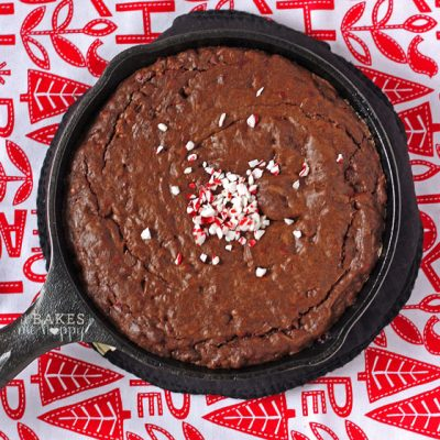 Peppermint Crunch Brownies