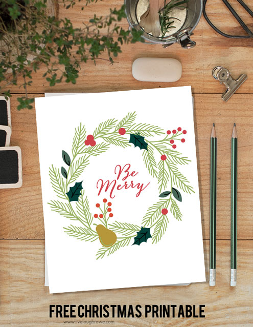 Be-Merry-Christmas-Printable