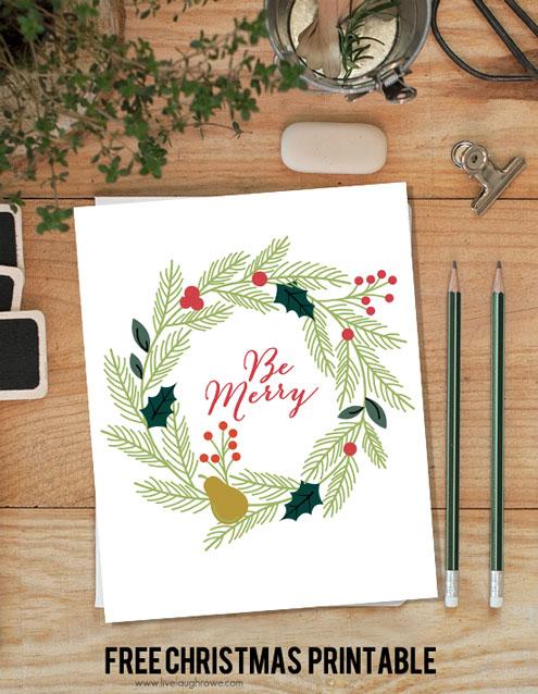 Be-Merry-Christmas-Printable