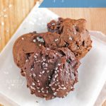 Chocolate Cranberry Gingerbread Cookies