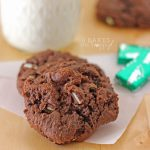 Mint Chocolate Cream Cheese Cookies