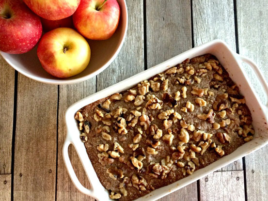Healthy Almond Apple Crisp