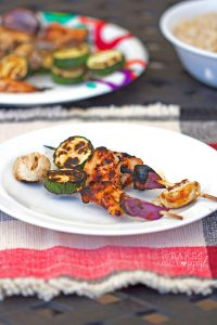 Barbecue Chicken Skewers