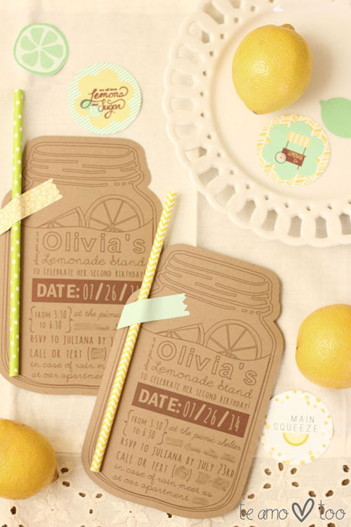 lemonade stand invite