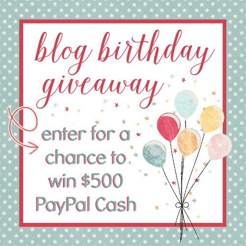 Enter for a chance to win $500 in PayPal Cash