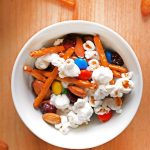 This super easy No-Bake Snack Mix will be the hit of your next movie night or game day celebration!