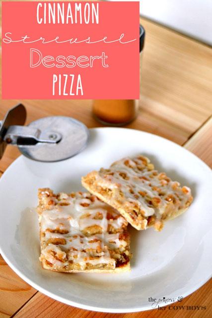Cinnamon-Streusel-Dessert-Pizza