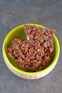 Chewy, crunchy, rich Dark Chocolate Granola Bark makes a delicious afternoon snack or late night craving cure!