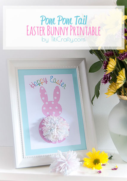 Pom-Pom-Tail-Easter-Bunny-Printable